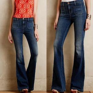 J Brand The Demi High Rise Flere Jeans